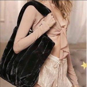NEW Victoria's Secret Limited Edition Black Tote
